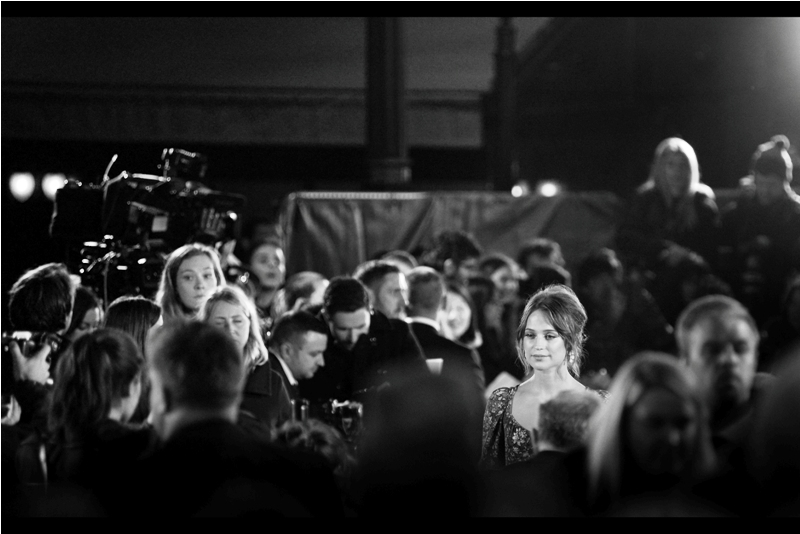 "Fine. Here's some rule of thirds composition. Alicia Vikander looks about as excited as I feel (back at The Apartment a couple of hours later, mind you. It felt plenty exciting at the time) - I last photographed her earlier this year at  the premiere of ""Jason Bourne"""