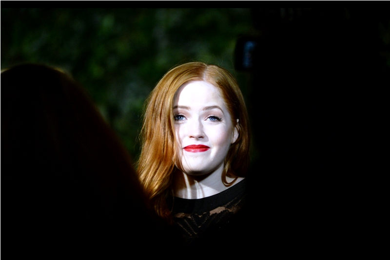 Ellie Bamber and I are at an impasse - I haven't watched Nocturnal Animals yet, and that's on me.