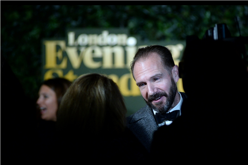 """""""No.... neither DC nor Marvel have as yet called, but thanks for asking""""  - Ralph Fiennes won the Best Actor award on the evening, so surely that's good for at least some kind of Stan Lee-esque cameo in Ant-Man 3?"""