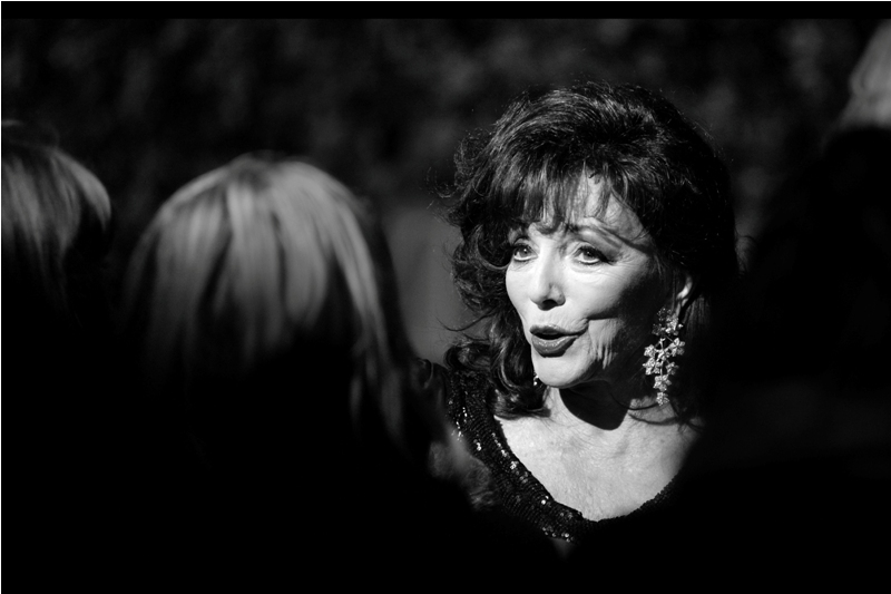 Dame (Lady?) (Viscount?) Joan Collins.