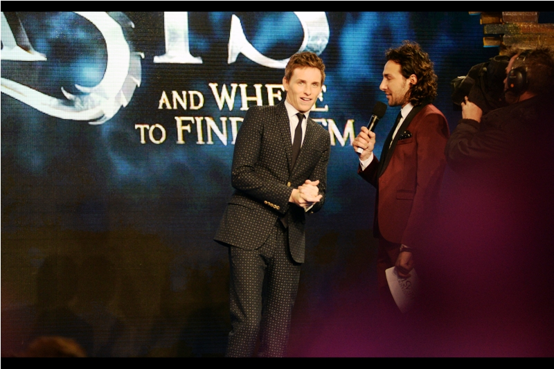 """You're Eddie Redmayne"" ""Sure"" ""I can put more exclamation marks after that if you want?"""