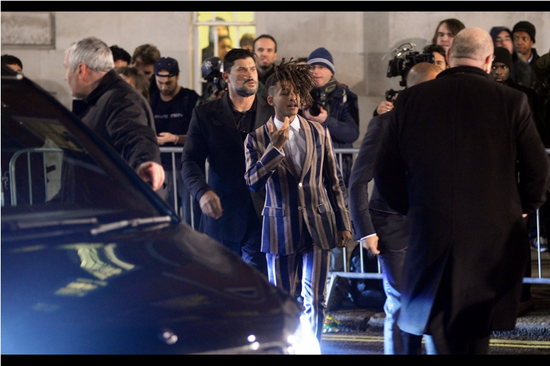 Oh, damnit. I just photographed frikkin' Jaden Smith.  (How could I let this happen? I used to be COOL)
