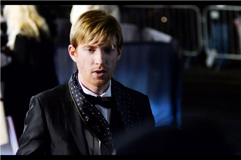 """You're totally allowed to drape an untied tie over the top of a bow-tie. Nobody says you're not""  - this is actor Domhnall Gleeson, best known for being in Ex Machina (or that Star Wars Reboot movie from last year that everyone has sadly failed to forget)."