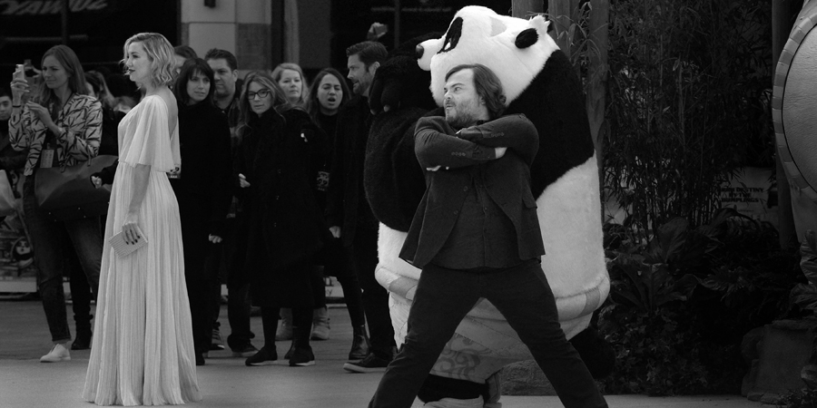 "March 6th :  Kung Fu Panda 3  (""fine. I'll just stand here by my roly-poly friend Jack Black!"") (nb. the movie was okay, but seeing it in 3D I'd upgrade it to Very Impressive)"