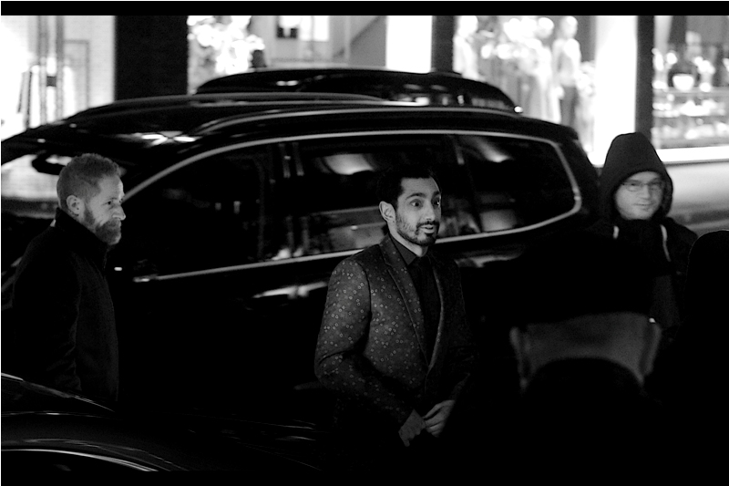 Riz Ahmed was at  yesterday's Baftas  and at the premiere (or-whatever-the-thing-they-did-for-Rogue-One-was-but-I-hated it) for  Rogue One last year .