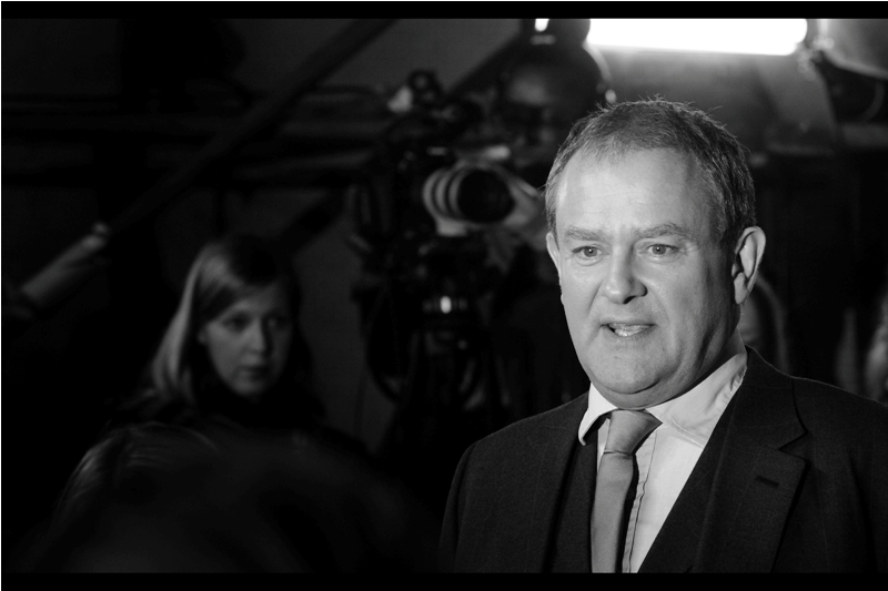 """""""You've heard of Downton Abbey? From the stuff you've brought to get signed and your general deameanour I wouldn't have picked you all as the types""""  - Hugh Bonneville is right insofar as I'm concerned. I haven't gotten around to watching it yet, and it's been on since 2010."""