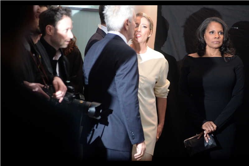 I'm a pretty big fan of actress Emma Thompson (who I photographed much better at premieres like   Walking on Sunshine   and   Men in Black III  ), but my spiritual equivalent at this premiere is the lady on the right, whose unimpressed expression pretty much grimly mirrors mine towards Disney right now.