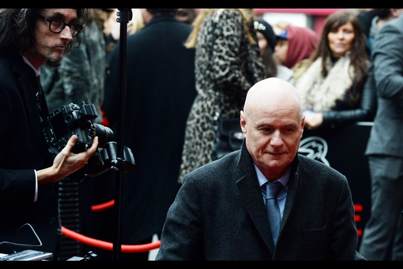"""Is that photographer trying to intimidate me? It's working""  - Dave Johns won the award for Best Male Newcomer for  ""I, Daniel Blake"""