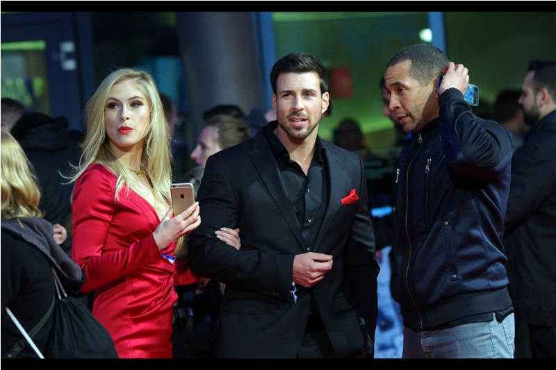 """""""I'm sorry, Madam and Sir. They just don't believe that you two are Charlize Theron and Vin Diesel"""""""