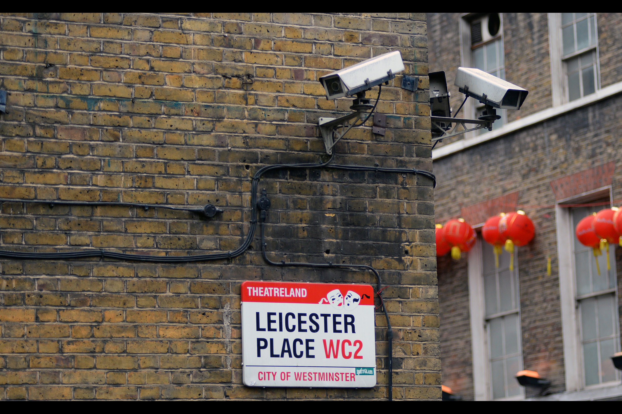 Leicester Place  is not the same as  Leicester Square ... but they're in the same cinematic universe, if you like.