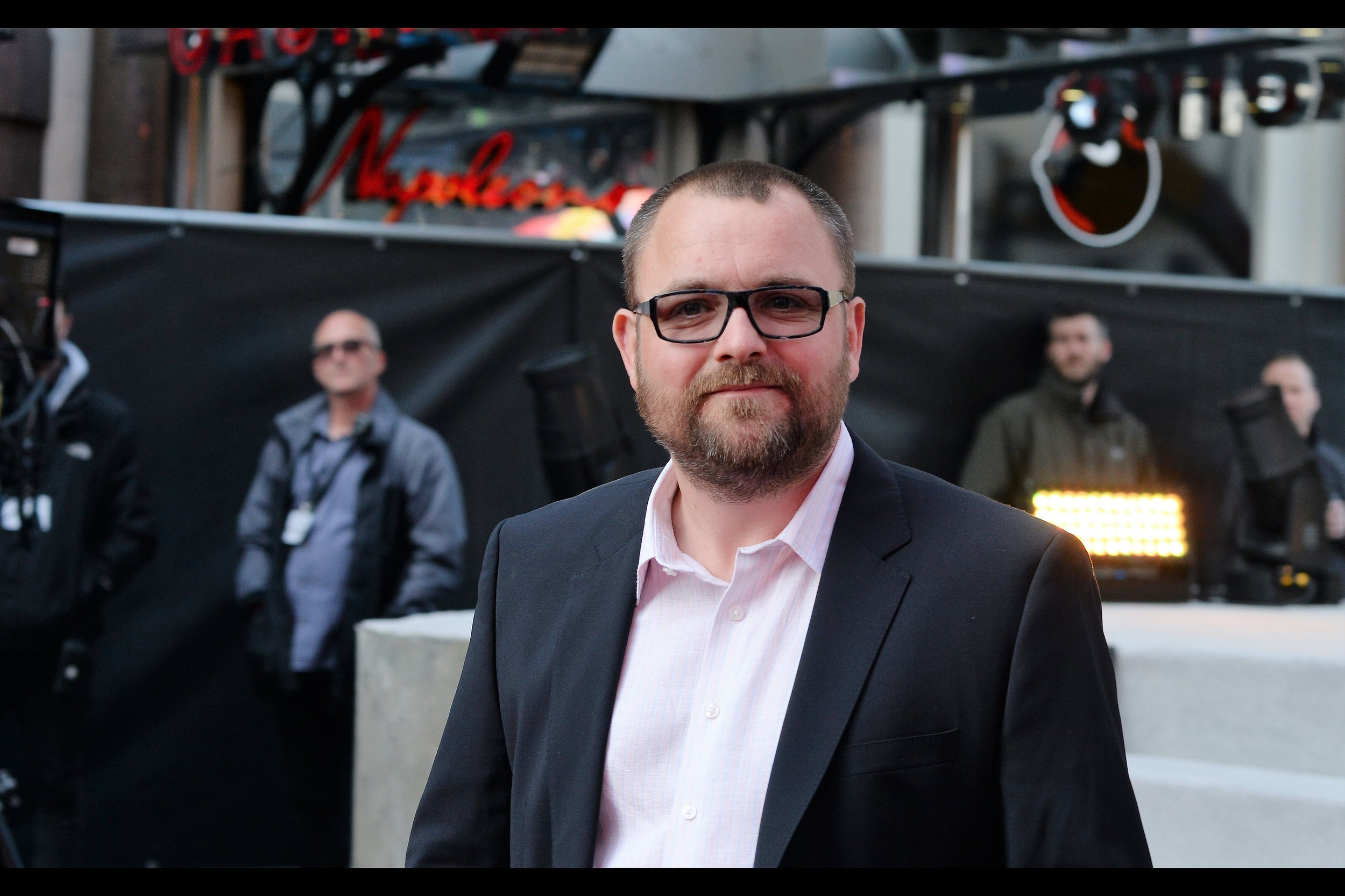 """Ties? They're so 1972...""  Neil Maskell plays the evocatively named ""Back Lack"" in the film. His list of roles in  the imdb is very impressive , but I'm drawn to him playing the role of Henry VIII in something called ""Drunk History : UK"" which I feel I should have been / be watching."