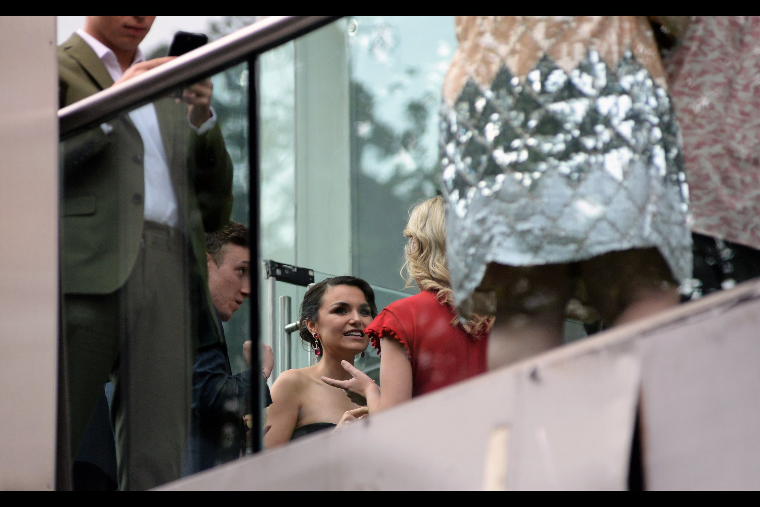 "Rather excitingly, I have photographed a second (2nd) person FROM THIS MOVIE at THIS MOVIE'S WORLD PREMIERE!! Samantha Barks, who I've photographed at some Baftas and Oliviers in the past - as well as   the (world) premiere of Les Miserables   - plays the role of ""Josefa Duchek"".."
