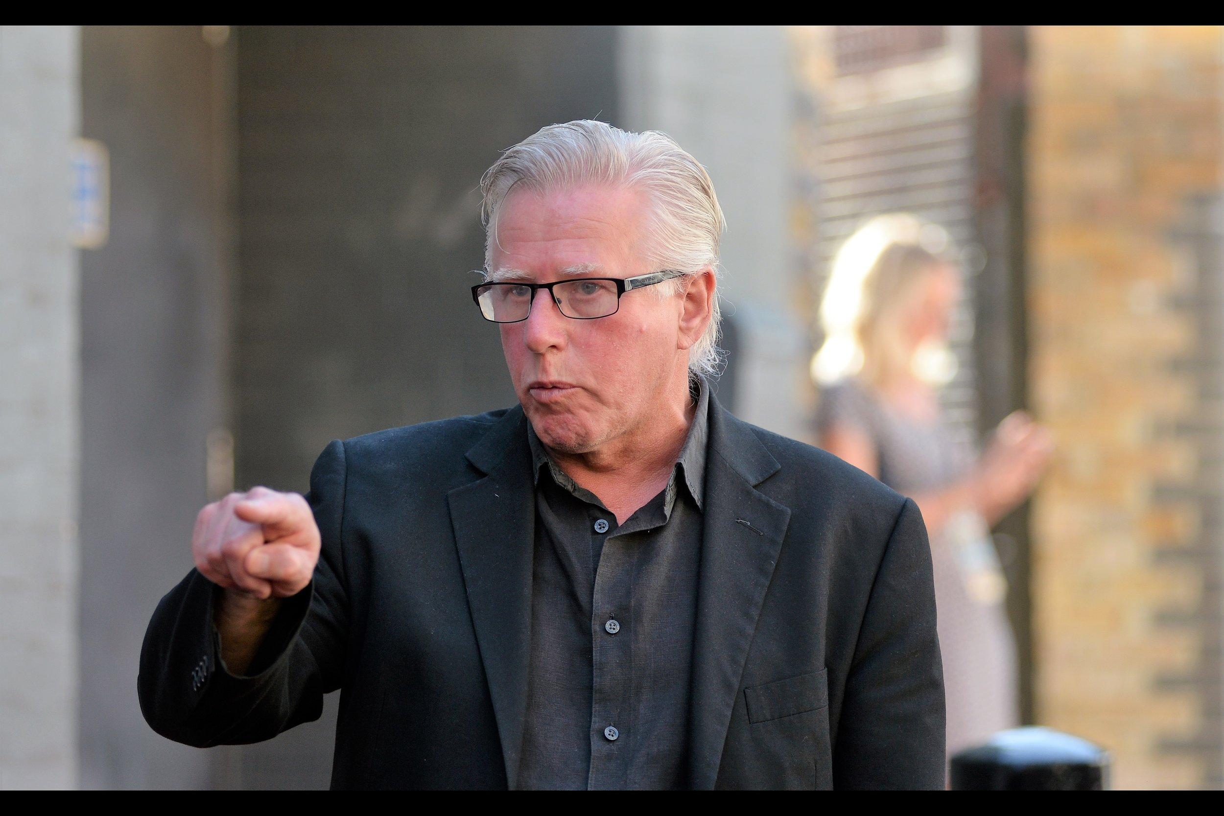 """It doesn't mean anything. I'm just doing it to freak you out"" . Phil Davis (the XXXIXth of his name on imdb.com) has some 136 credits to his name (including Alien3, Vera Drake and Notes on a Scandal), but to me he'll always be best known as the villain in the first episode of Sherlock"