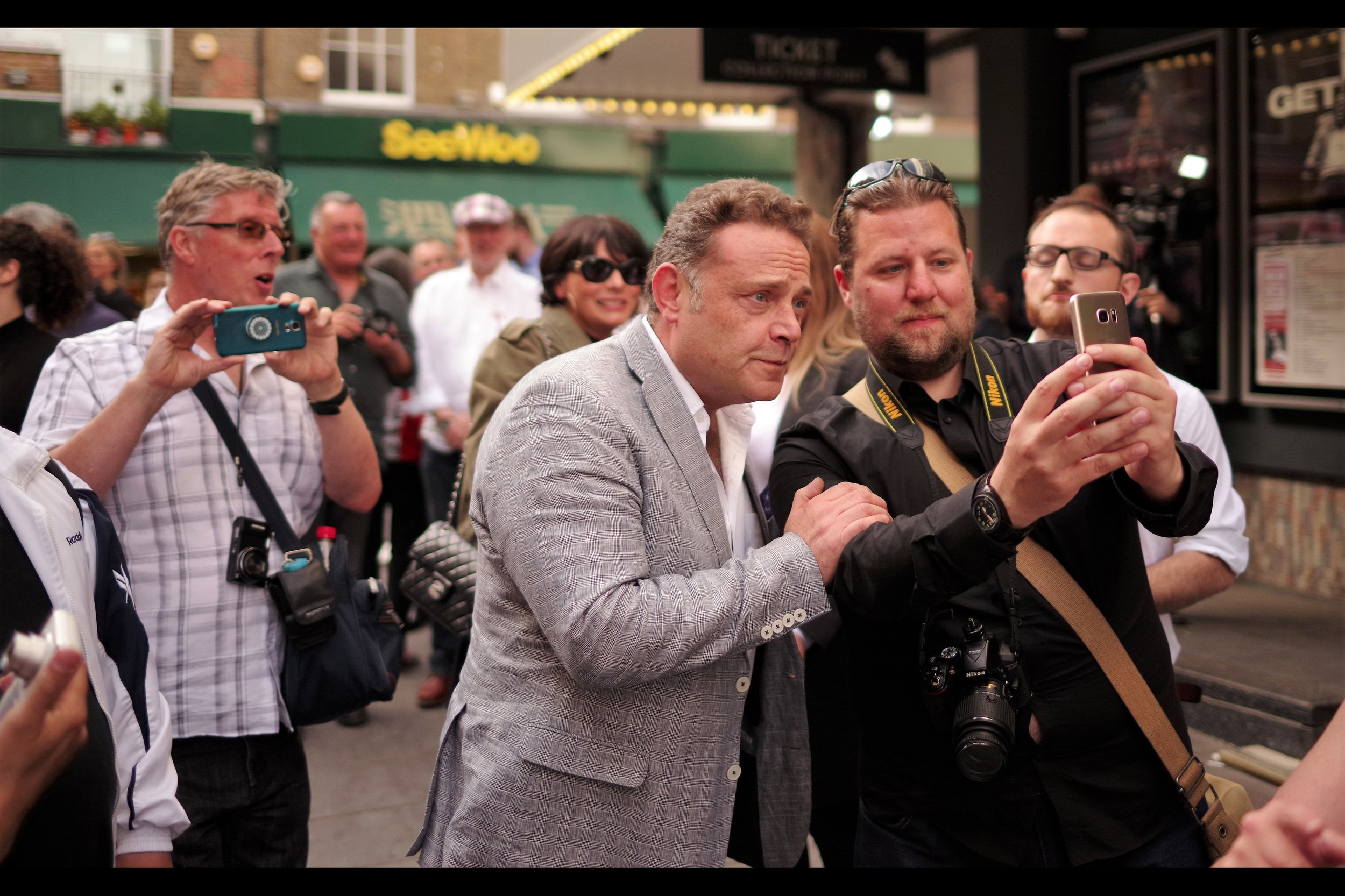 """""""I hope you don't mind, but I'm finding this is a particularly emotional part of this movie""""  - John Thomson is in this movie, as well as (per imdb) such films as Inkheart (2008), Wallace & Grommit : Curse of the Were-Rabbit (2005), and the TV series Cold Feet"""