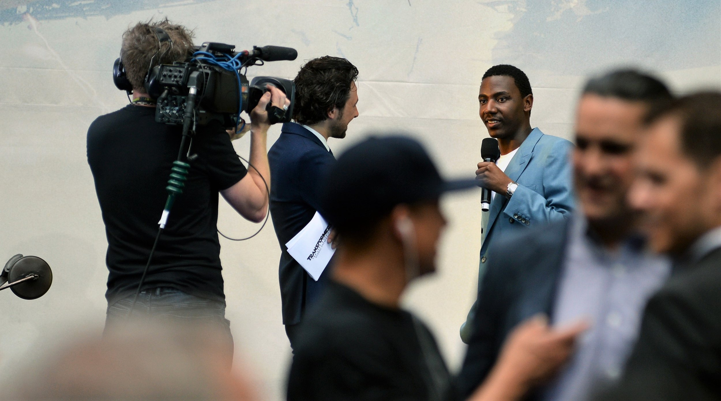 """Jerrod Carmichael was in both of the Zac Efron-led """"Neighbours"""" films, as well as a TV show called """"The Carmichael Show""""... but I'm not sure what character he plays in that."""