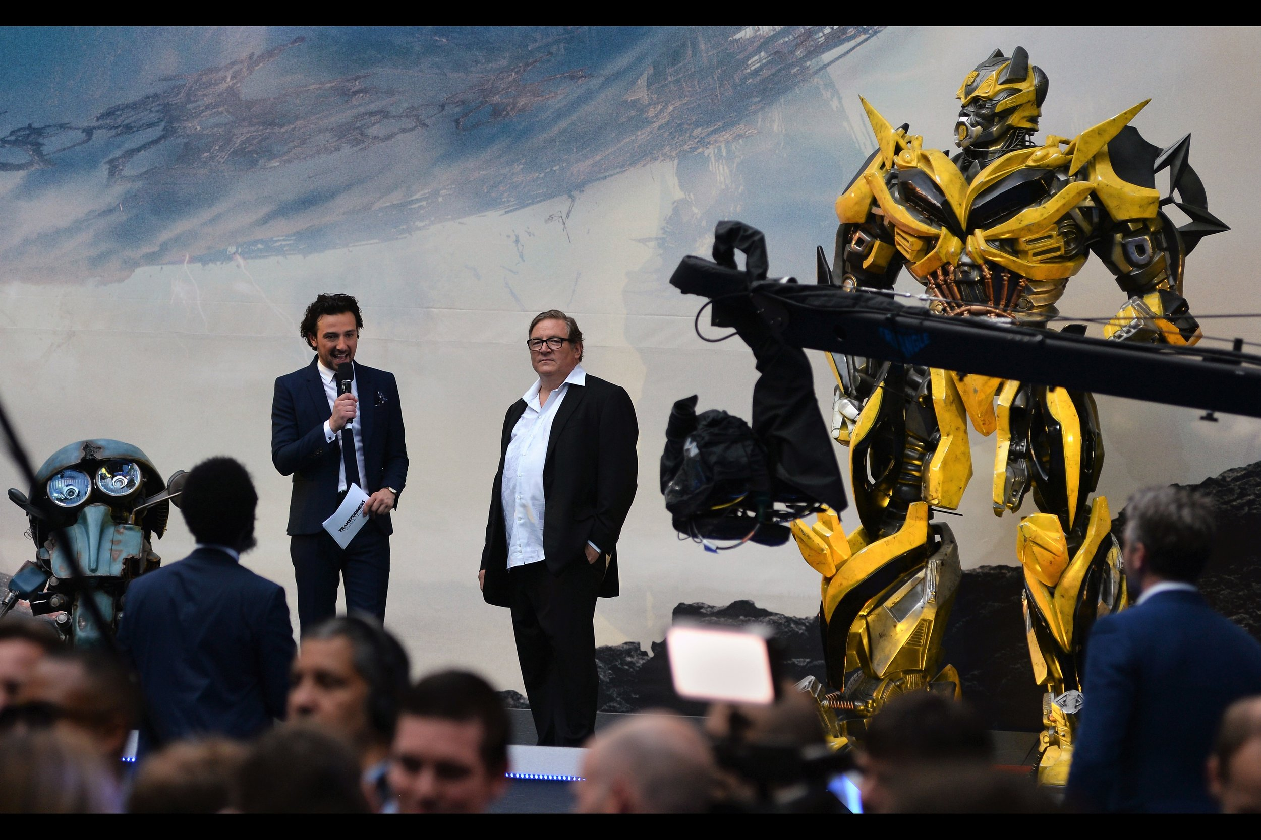 """""""He's produced 5 Transformers films, as well as 2 GI Joe films, so if you're looking for somebody to blame.... here's producer Lorenzi Di Bonaventura!!"""""""