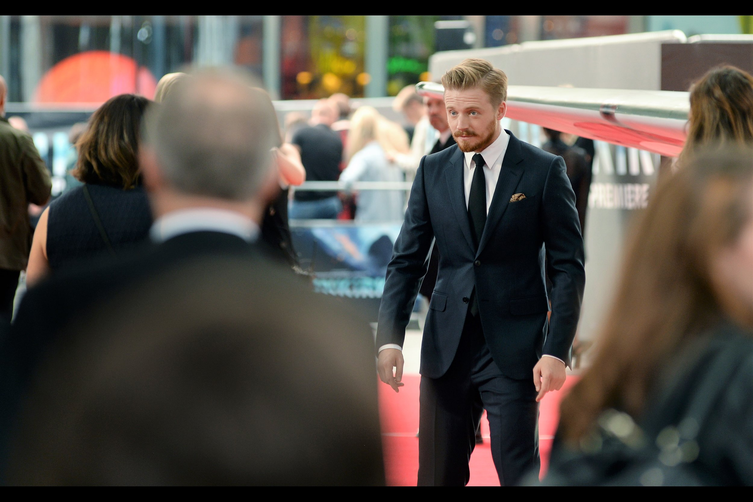 """""""Yeah, well I'm TALLER """" - Jack Lowden, along with being taller than Harry Styles, was in 'A United Kingdom' last year."""