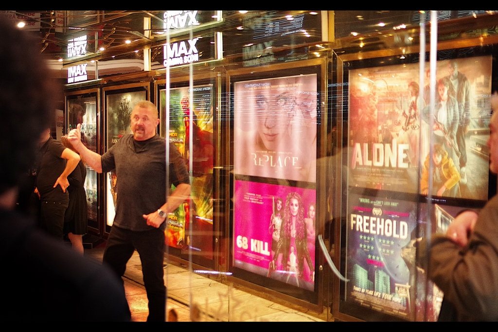 Not quite random attendee : Kane Hodder, arguably best known for playing Jason Vorhees in the 7th, 8th, 9th and 10th Friday 13th films, who will be doing a talk sometime during the festival (and/or possibly a bar near the festival... I don't know)