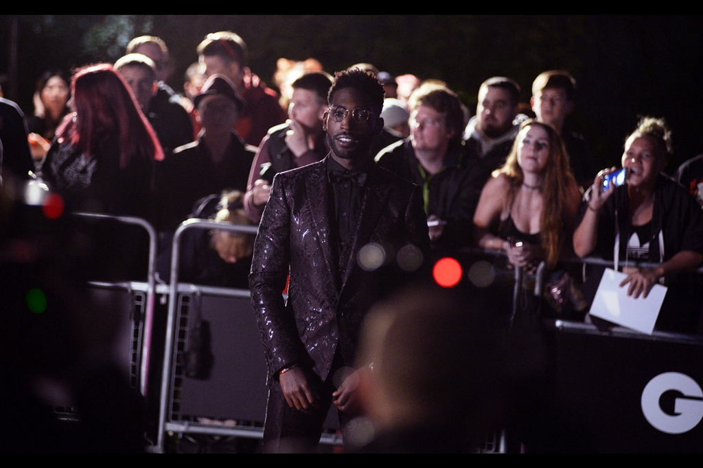 I believe this is musician Tinie Tempah. I'd make some joke about people whose name is formed of misspelled words, but my name(s) cause enough people problems