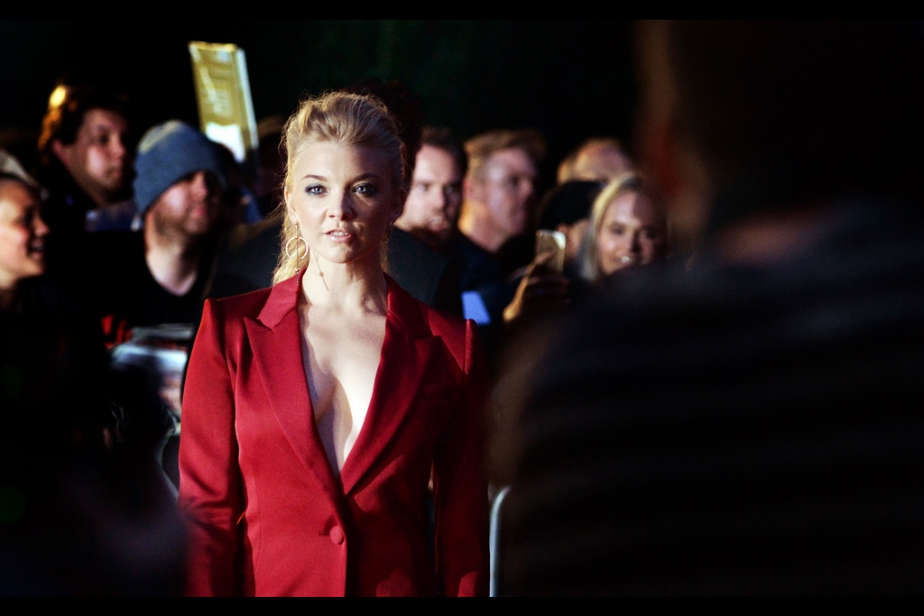 Game of Thrones' Natalie Dormer and I share a moment, and that moment is still ongoing as I type this hours later, and don't tell me it's not ongoing because I'm right here and it's ongoing.
