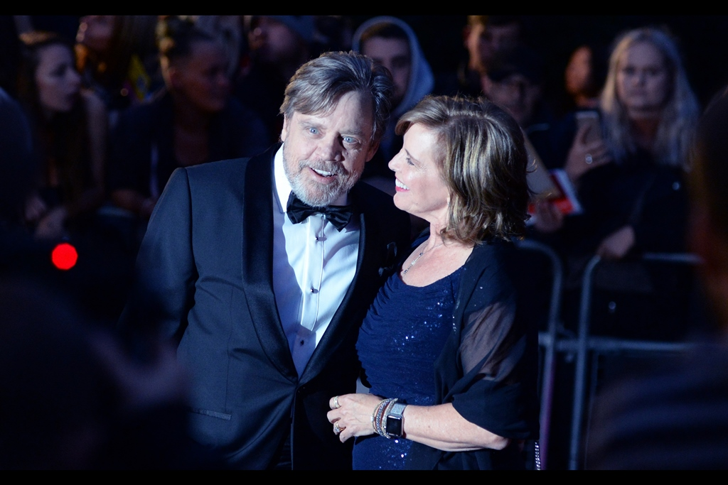 Luke Skywalker prefers to go by the name 'Mark Hamill' when he's attending  the 2017 GQ Awards.. .