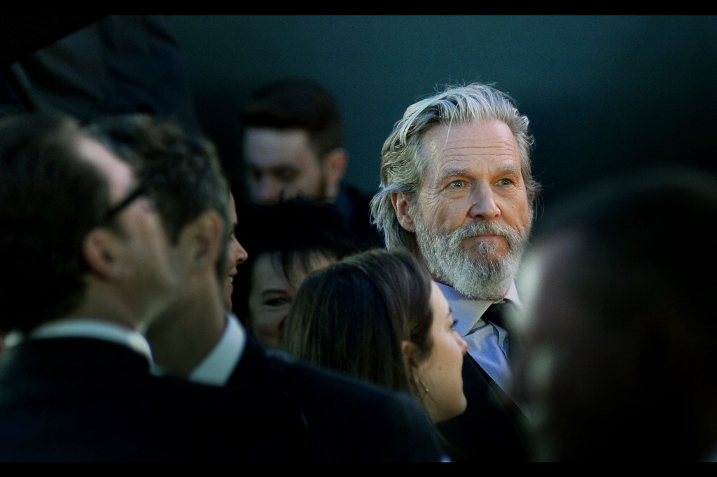 It's The Dude!   (I'm feigning excitement - I was never a fan of The Big Lebowski, but I think Jeff Bridges was very good in such movies as Crazy Heart (which he won an Oscar for), True Grit and even Tron Legacy and the first Iron Man film).