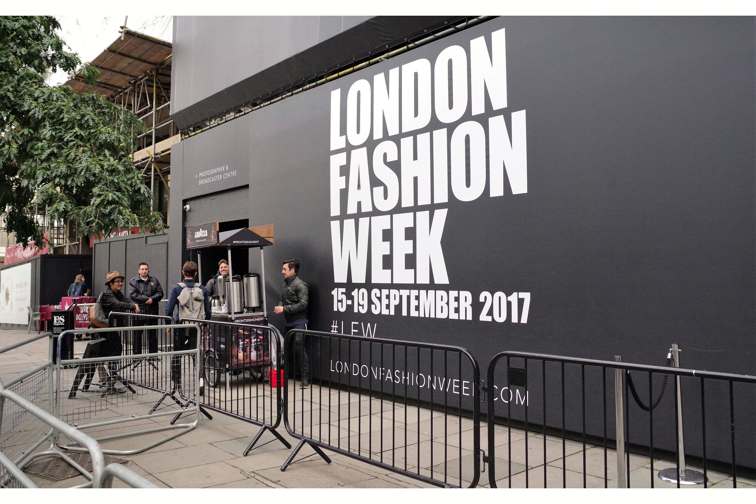 """""""Obviously we put a shot of vodka into every Espresso. This is London Fashion Week (darling)"""""""