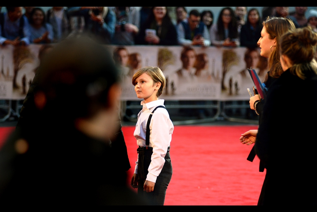 Young Will Tilston, who plays the role of 8 year old Christopher Robin in the film, has literally only this movie in his acting credits, and with those suspenders he's also better dressed than I am.... which is quite the ego destroying realisation.