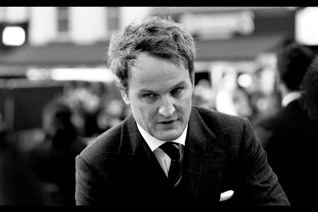 """"""" 'Young Cop' in TWILIGHT?? They swore my cheque to suppress that one had cleared!!""""  - Jason Clarke's filmography makes for some remarkable reading...."""