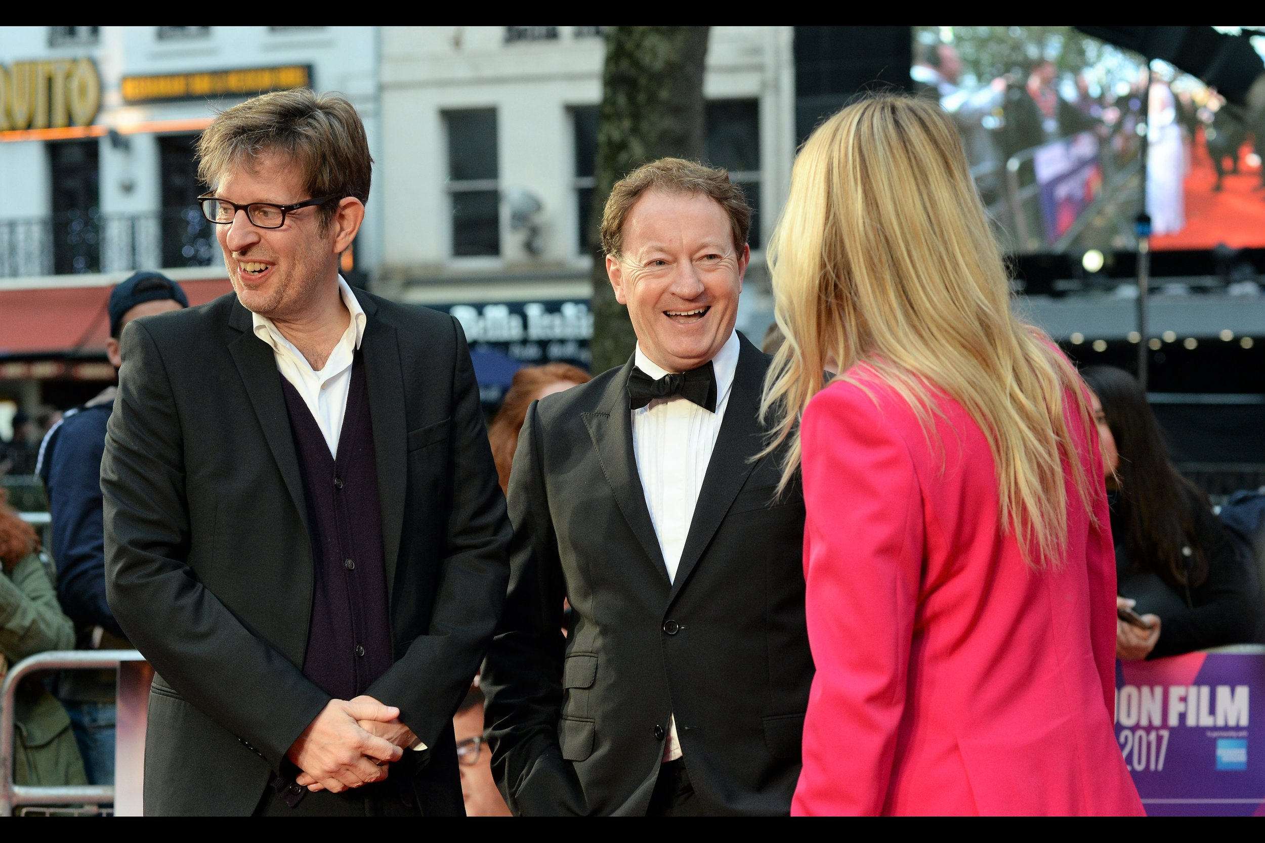 """I definitely think nobody could have played a misogynist serial hustler better than Steve Carrell. And I mean that in the best possible way.""  Simon Beaufoy (centre) won an Oscar for Best Adapted Screenplay for Slumdog Millionaire."