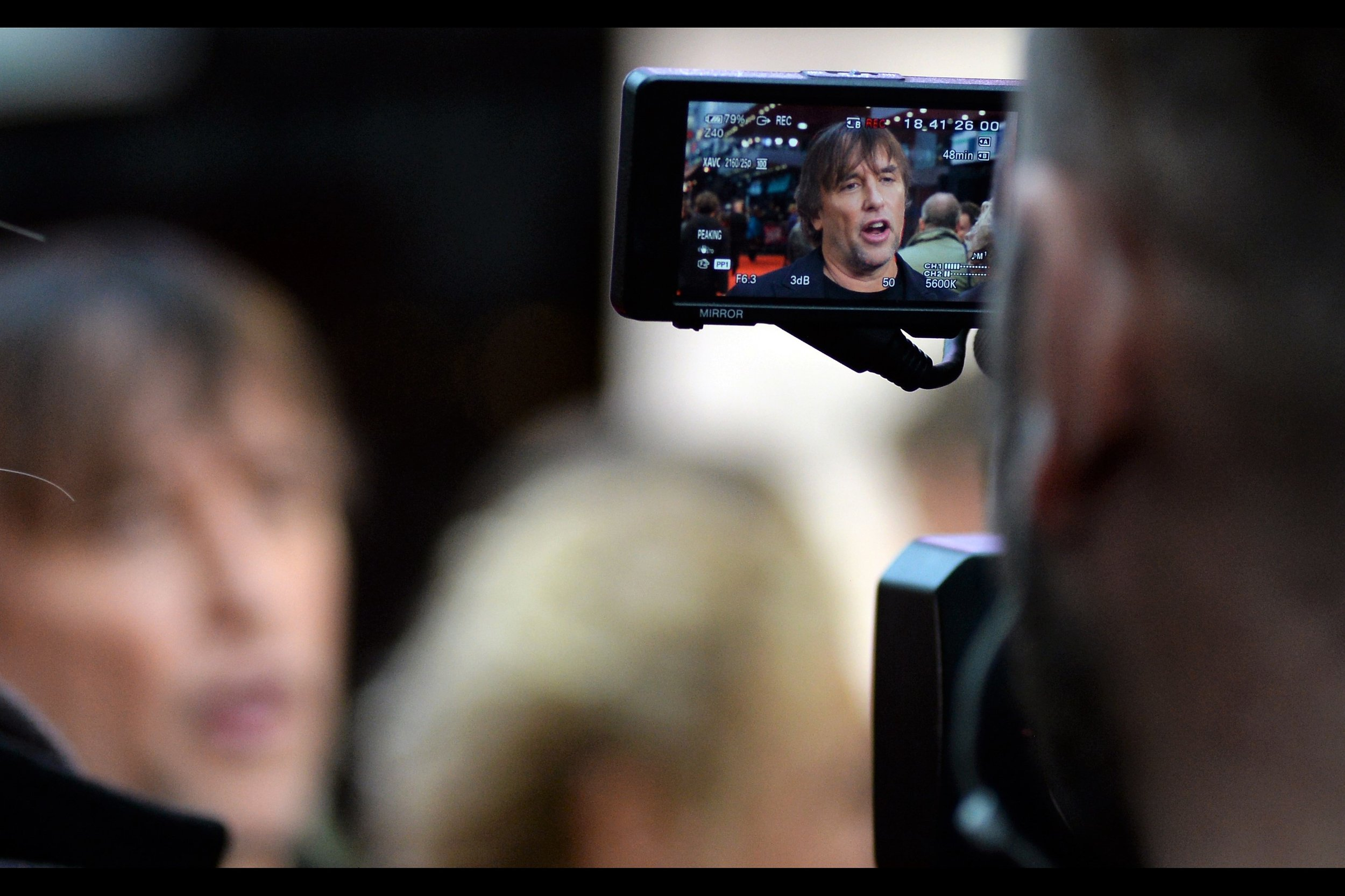 Meanwhile, here's blurry Richard Linklater.