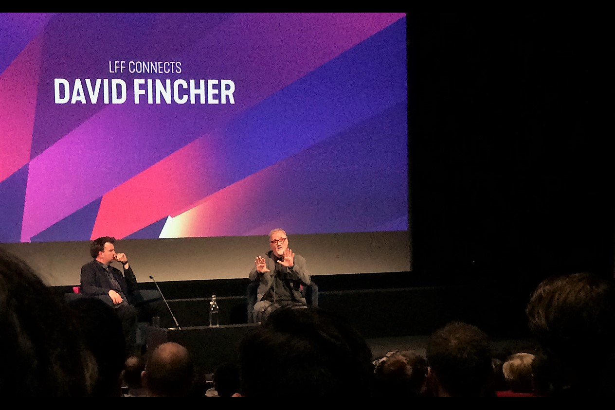 Maybe one more photo. When David Fincher speaks, I listen.