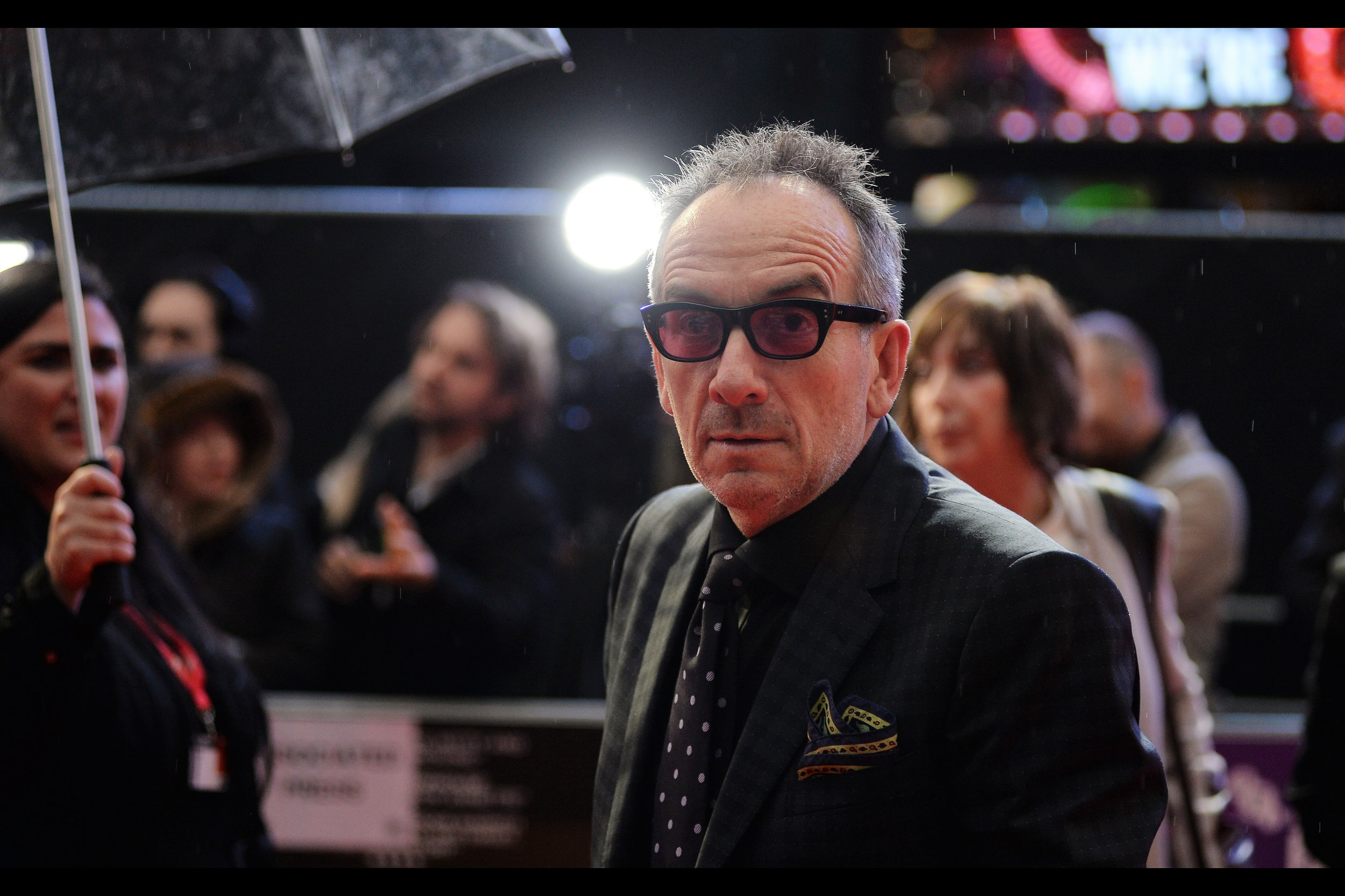 """I'm Elvis Costello?"" Apparently so."