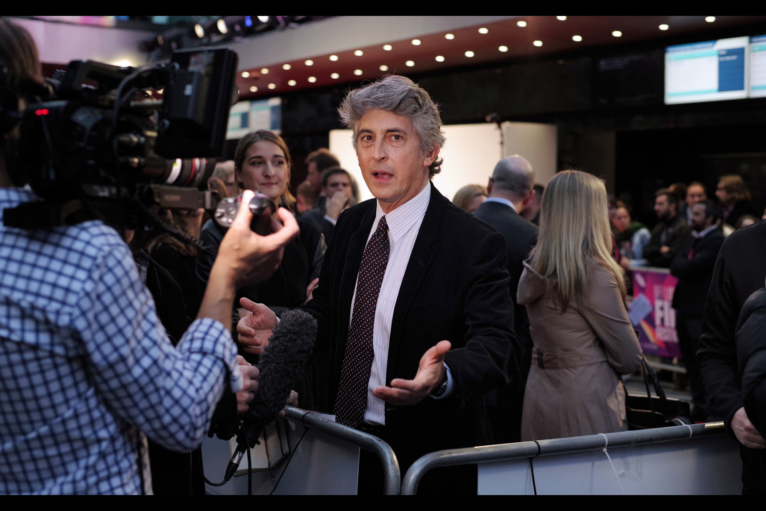 """She left, bro. What are you still doing here?"" What indeed, two time Oscar Winner Alexander Payne."