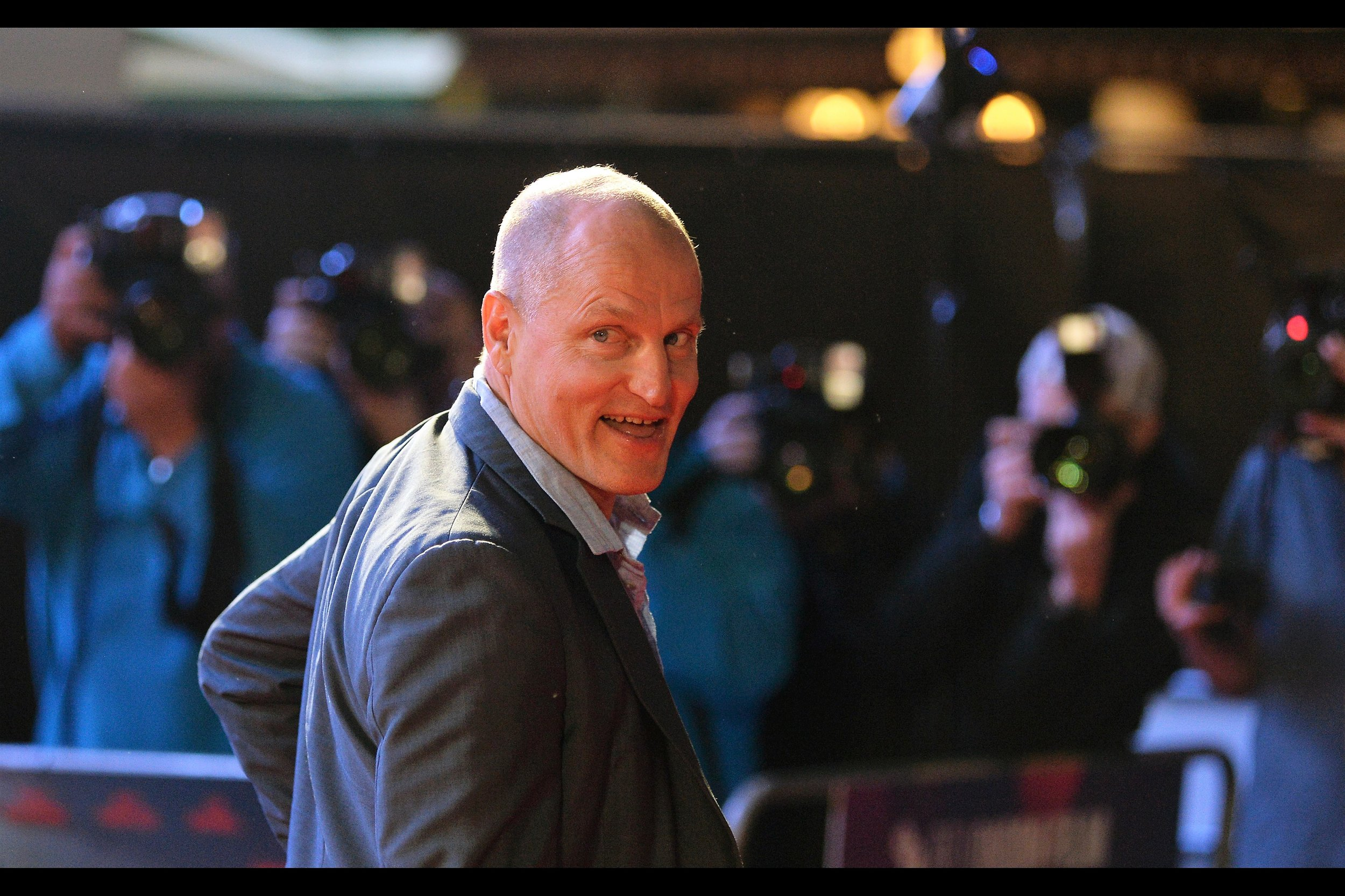 """""""That's right. TWO.""""  Woody Harrelson has indeed been nominated for not one but two Academy Awards - for No Country For Old Men, and The People Vs Larry Flint (but not Now You See Me and Zombieland, which is what I like him best int!)"""