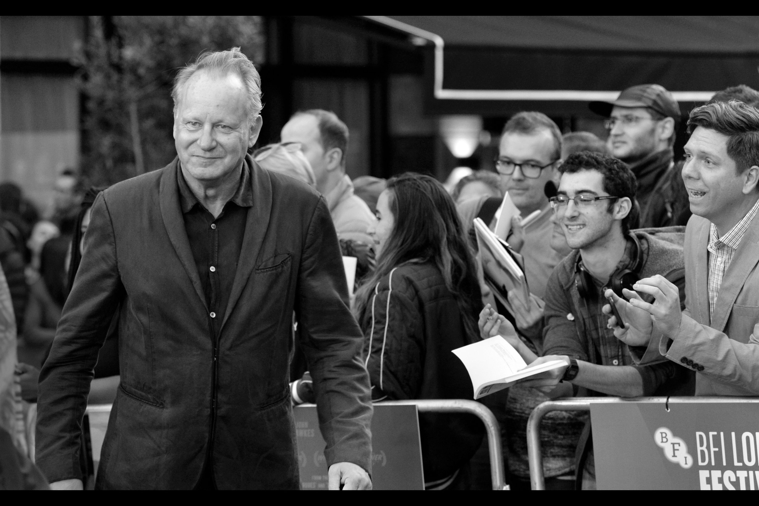 Our first arrival is not in this movie, but Stellan Skarsgard has been in movies as diverse as David Fincher (  The Girl With The Dragon Tattoo  ) and Marvel (  Thor The Dark World   for example)