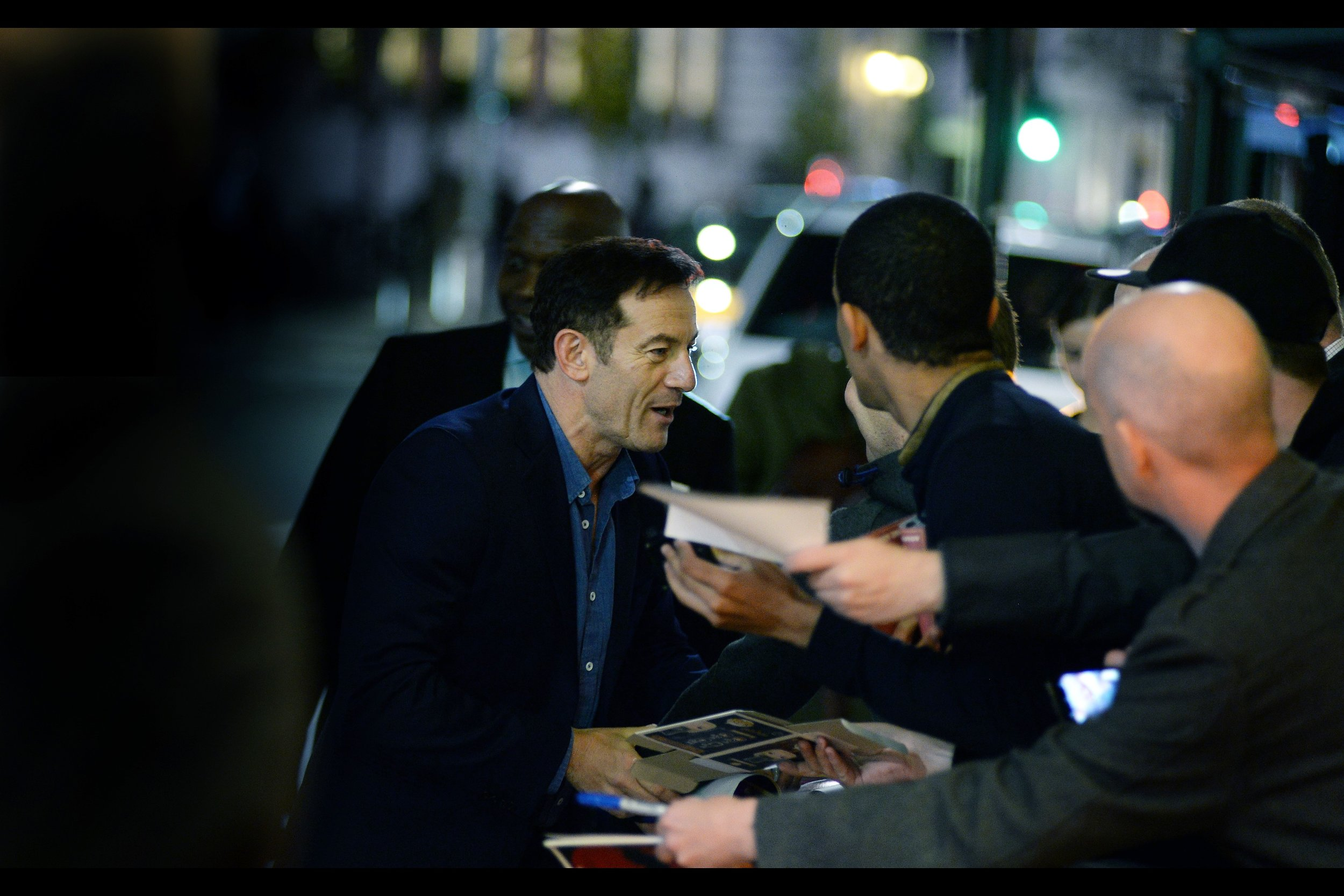 It's Jason Isaacs! I'm disproportionately excited because although I've certainly photographed him before, I missed photographing him on back-to-back days at London Film Festival, and I'm usually not that lax, even on as little sleep as I get during London Film Festival.