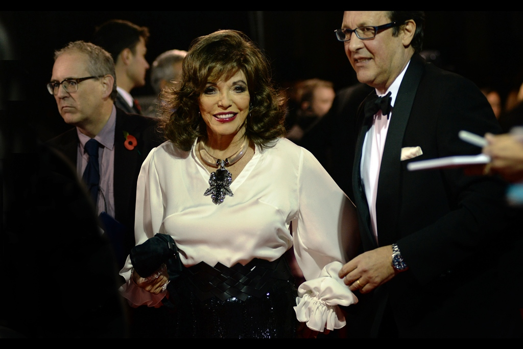 It's Dame Joan Collins! I last photographed her at the   2015   and   2017 BFI Luminous   events, and also   this year's TV Baftas  .