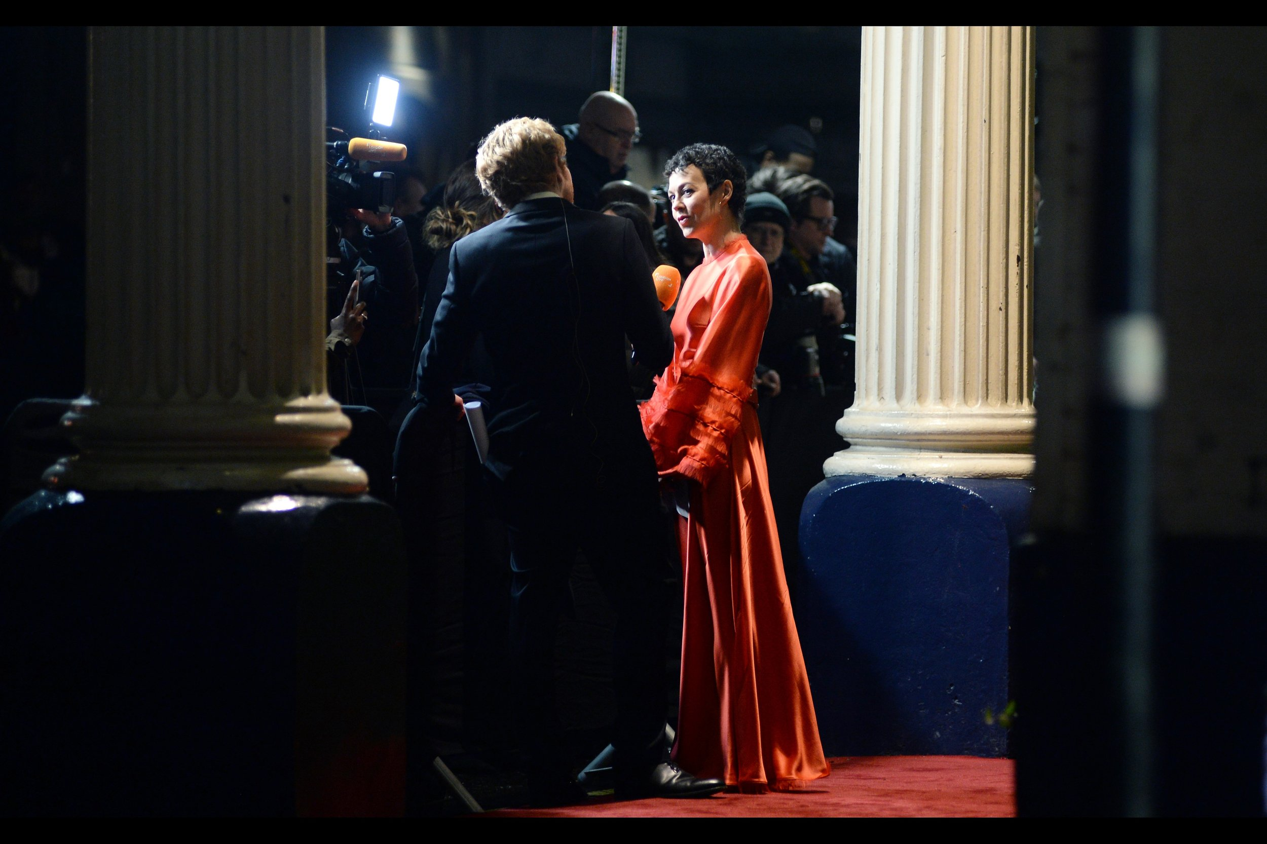 """Helen McCrory is possibly unfairly best remembered by me for being the MP who grills Judy Dench's """"M"""" in parliament in Skyfall. But she's done other things, including wearing red dresses."""