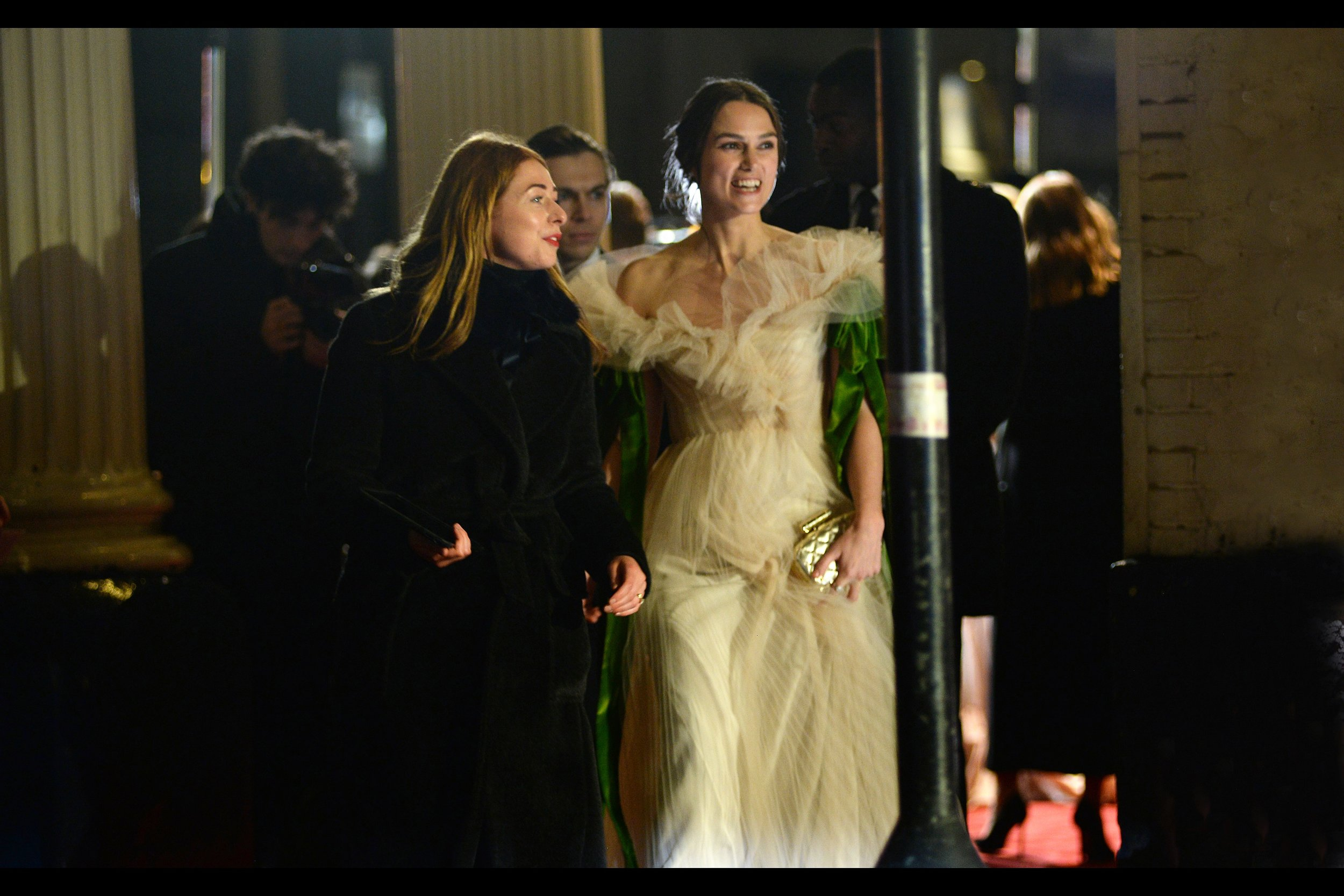 """I'm not entirely certain what actress Keira Knightley's bona fides are where theatre is concerned, but given mine is limited mostly to """"Hey, I'm At This Event And It's Cold"""", I suppose I'm not one to judge."""