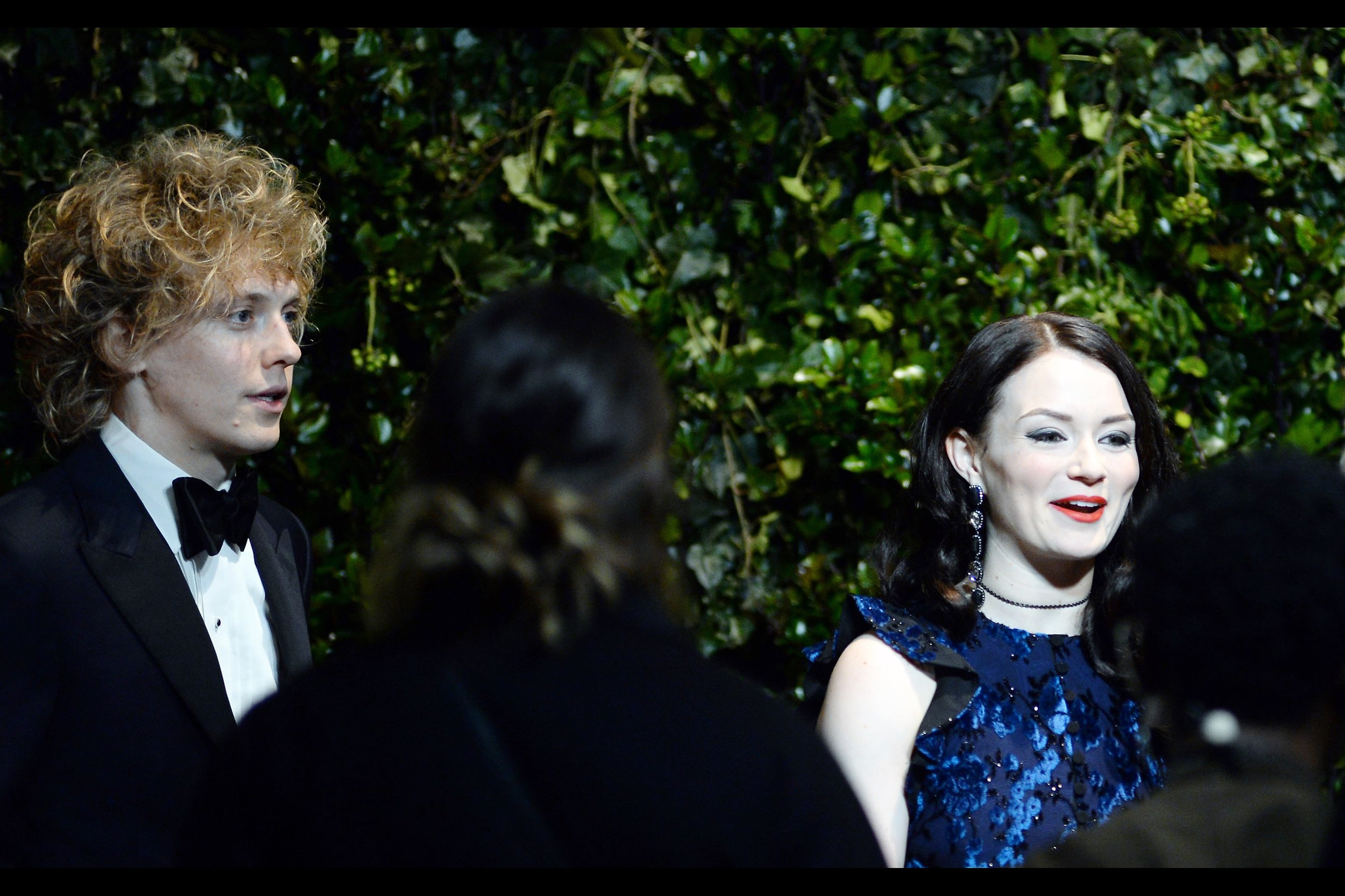 """Embarrassedly added later : Andrew Polec and Christina Bennington  , who accepted the BBC Radio 2 Audience Award for Best Musical for   """"Bat Out Of Hell"""" (I was at that premiere  , but couldn't parley it into a regular gig shooting musical premieres/openings #regret)"""