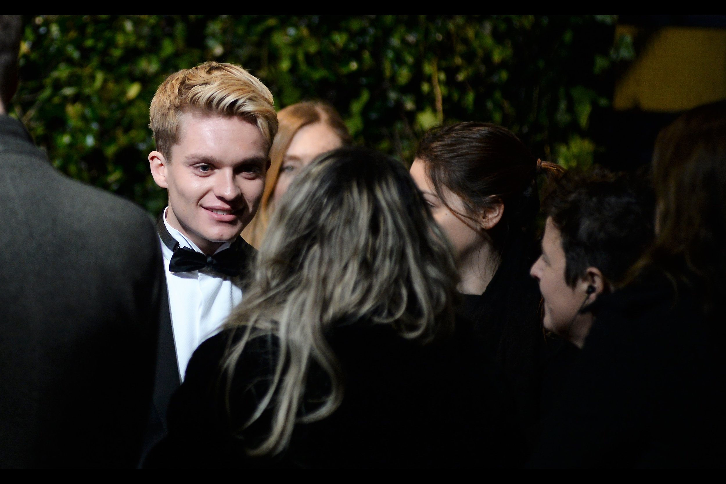Edited to add : Tom Glynn-Carney won an award  (or, to be fair, in a gallery I saw online he was clutching an award and the caption didn't say whether it was his or not and what for. Damn... I need better researchers...) (edited to edit to add : he won the 'Emerging Talent' award)