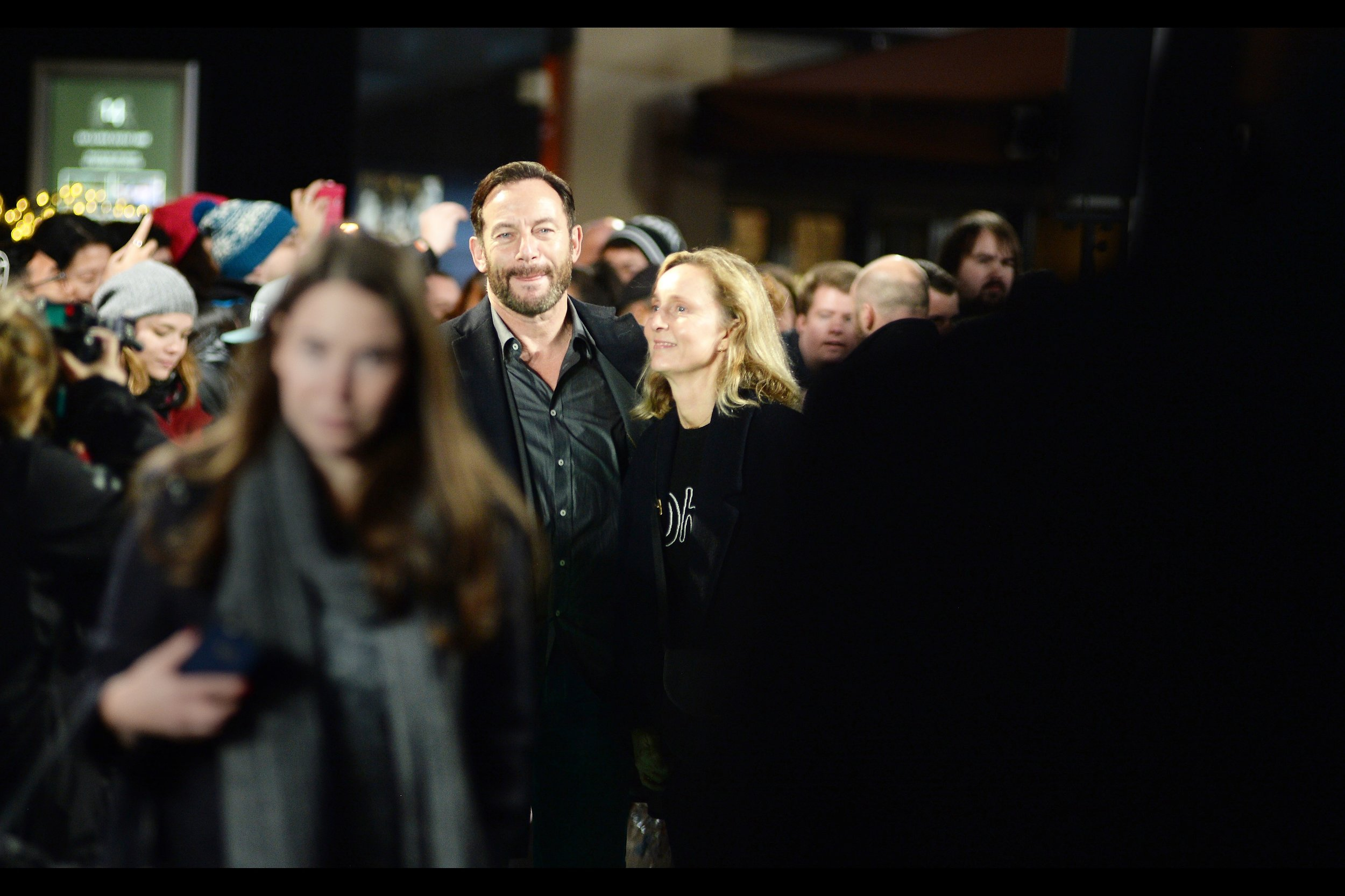 """Late/random arrival : actor Jason Isaacs. I missed photographing him several times during BFI London Film Festival back in October, but eventually did snap him at   """"Death of Stalin"""""""