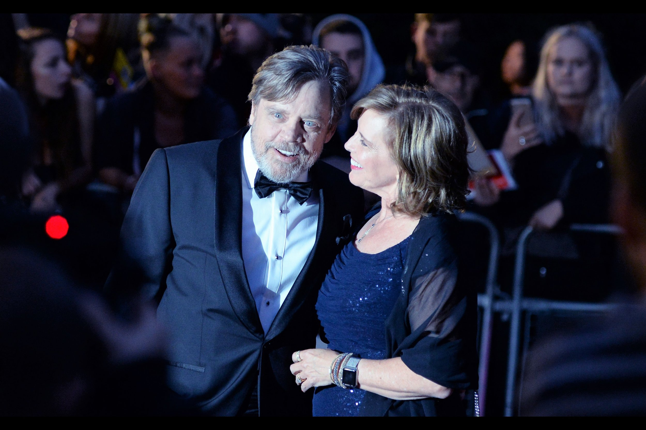 September 5th : This year the    GQ Men of the Year 'awards'    were at the Tate Modern - and Mark Hamill attended!