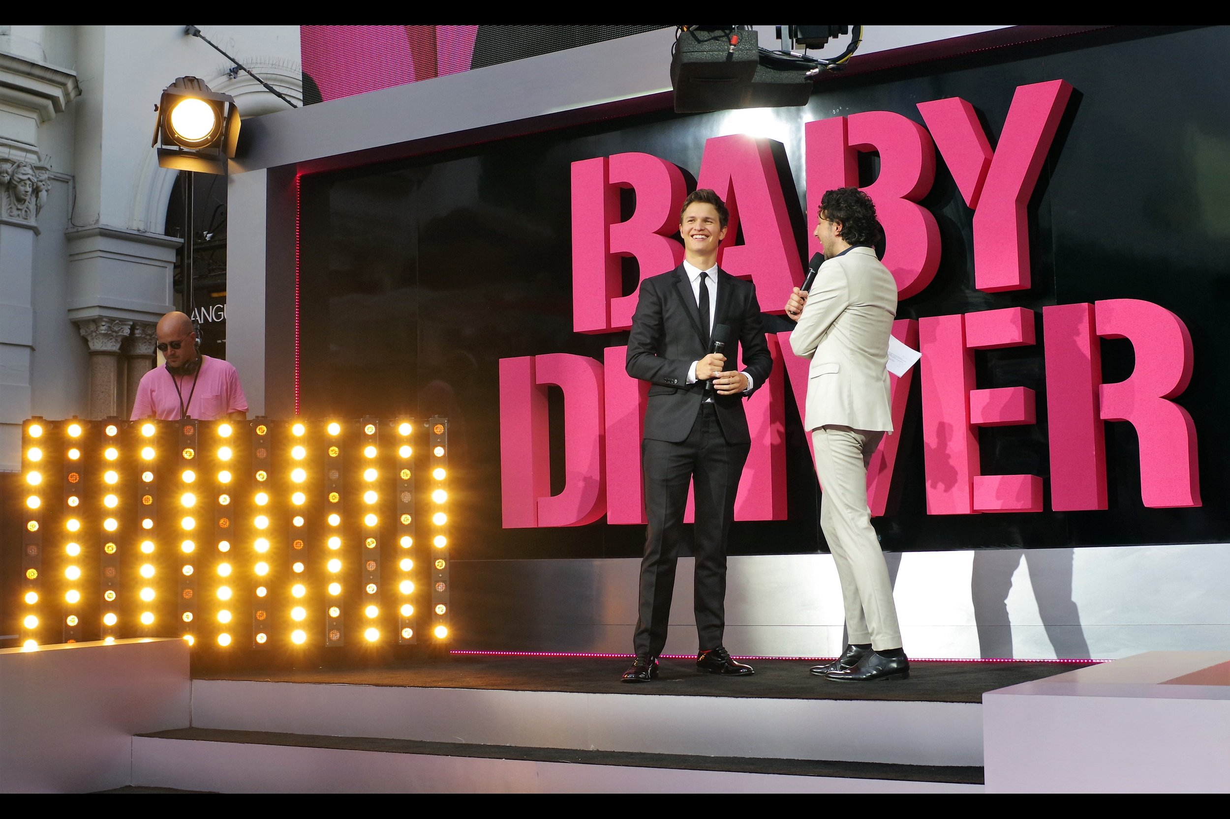 June 26th : And I even got to see the movie! At the    'Baby Driver'    premiere.
