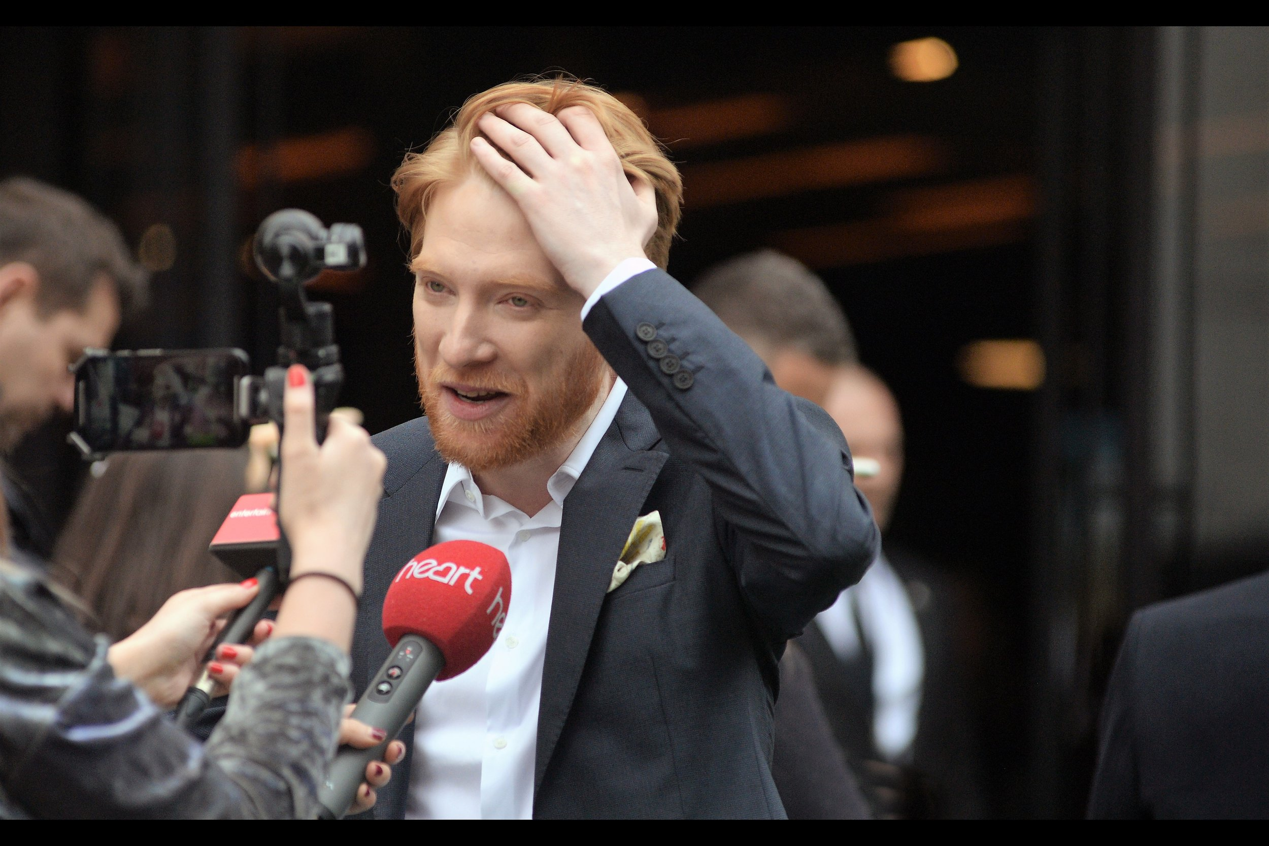 """""""I know, it's confusing to me as well""""  - depending on what part of the crowd you find most authoritative, Domhnall Gleeson's first name might be pronounced """"Doe-Nuhh"""", meaning close to half the letters in his name are silent or absent from the pronounciation?"""