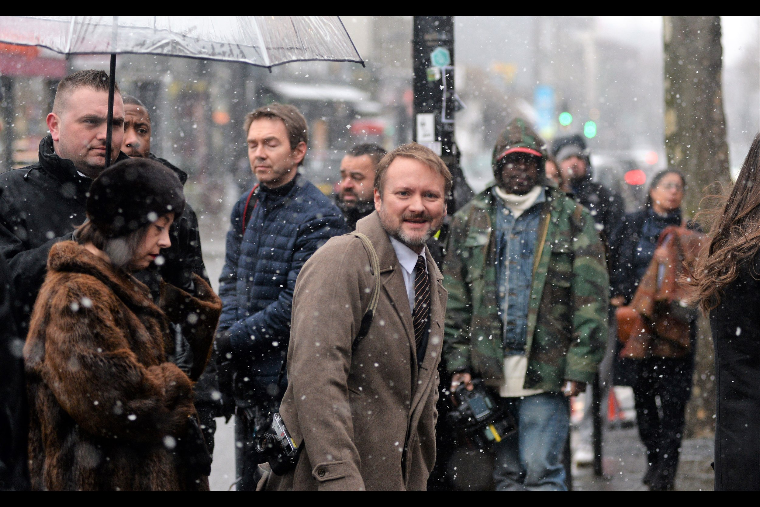 Rian Johnson directed '   Star Wars : The Last Jedi   ' - the movie over 90% of critics loved but over 50% of fans on Rottentomatoes did not. Fortunately, critics pay to see movies.... don't they? Still, he's a nice guy and I really like this photo.