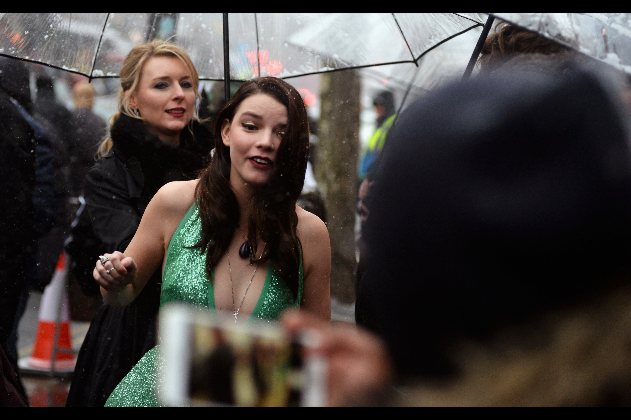 I first photographed Anya Taylor-Joy at    last year's Empire Awards   , just after I'd watched 'The VVitch', which she was very good in.