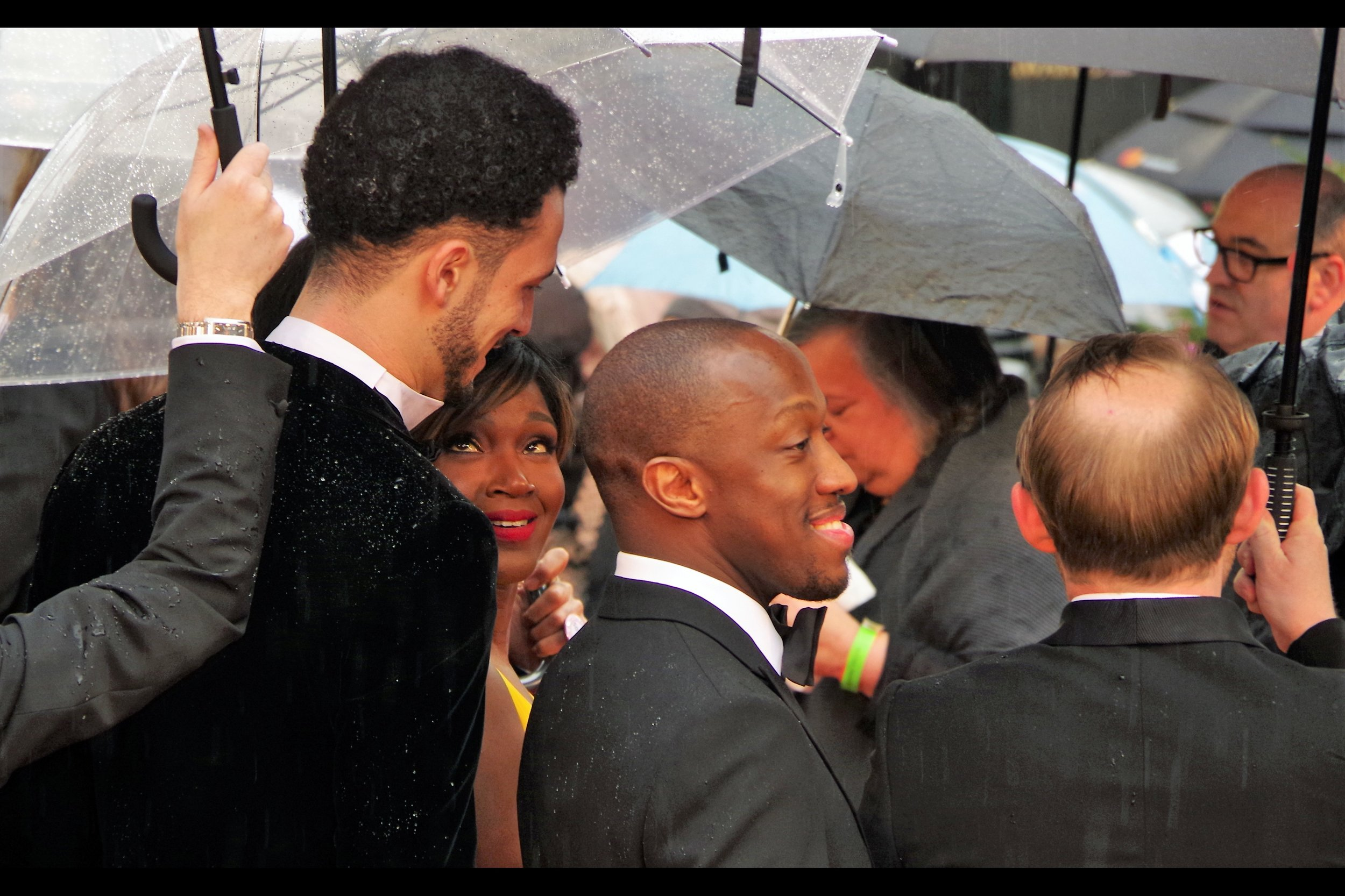 Some of the cast of the musical Hamilton. Or so I am assured. The play won 7 awards on the night, so I want to make sure I photograph as many people as possible, for the likelihood that they, like everyone else, eventually sells out to Disney and gets roles in Star Wars or a Marvel film.