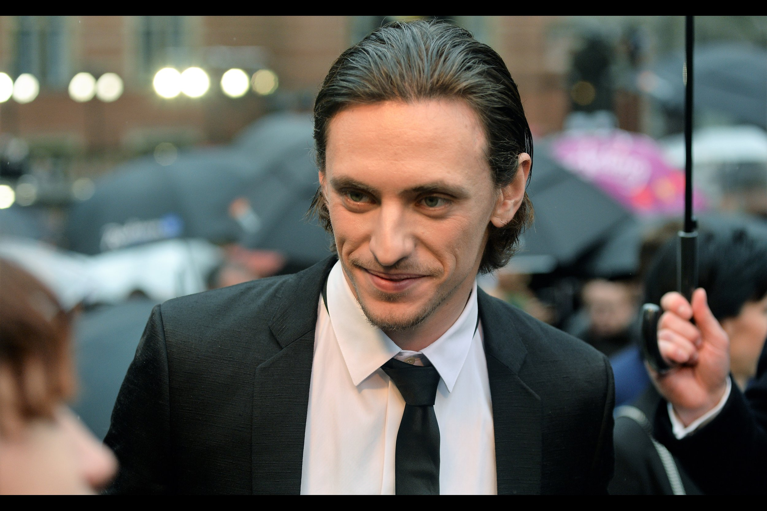 Excitingly, we might be getting to the part in the proceedings where the 'bigger' name arrivals start... arriving. I know Sergei Polunin - not for theatre, but because he was in    Kenneth Branagh's 'Murder on the Orient Express'    which had its World Premiere last year... also at the Royal Albert Hall.